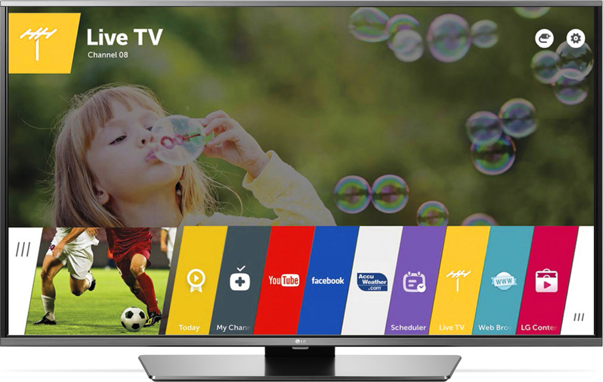 Τηλεόραση LG 43LF632V Smart TV, 450Hz