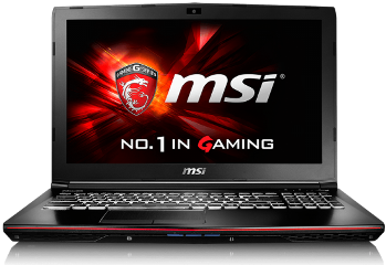 LAPTOP MSI APACHE GE62 6QC-018NL