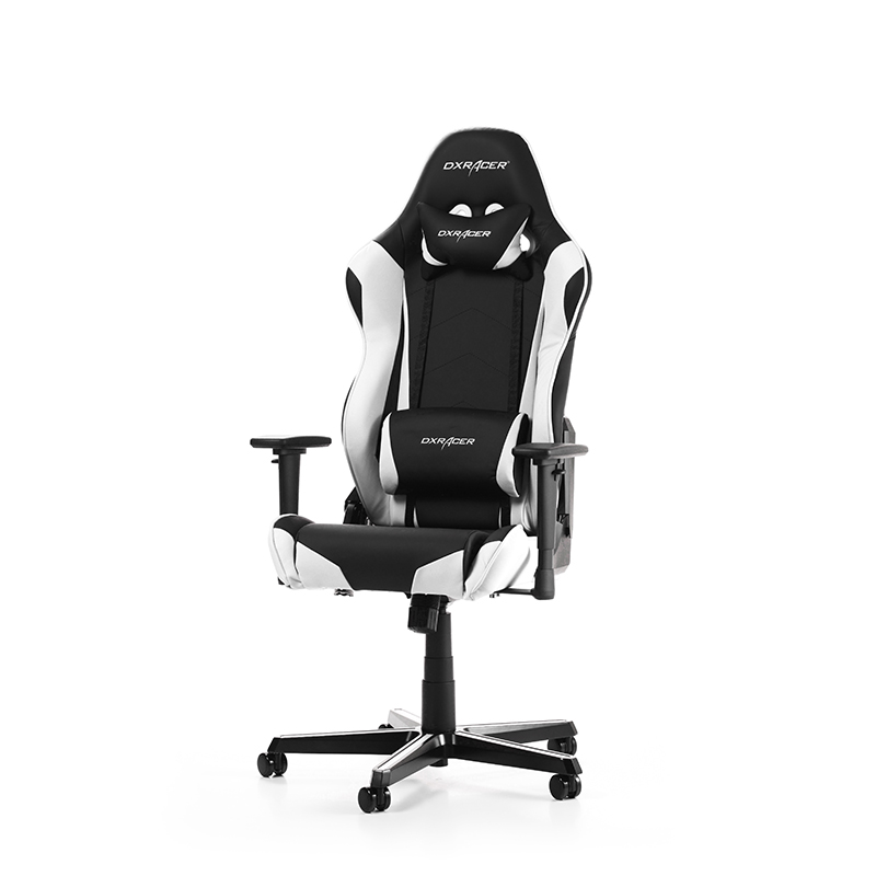 DXRacer RACING R0-NW - Gaming Chair - Μαύρο/Λευκό