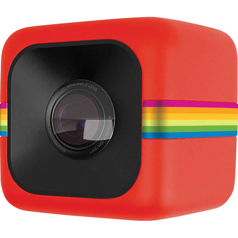 Βιντεοκάμερα action cam Polaroid POLCPR Cube Plus Red Wi-fi