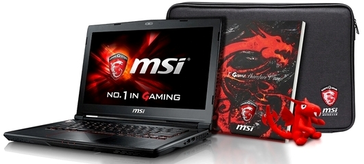 LAPTOP MSI PHANTOM GS40 6QE-079NL