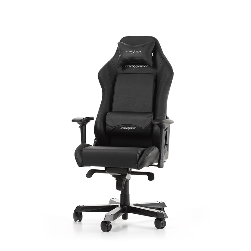 DXRACER IRON I11-N - GAMING CHAIR - ΜΑΥΡΟ-ΔΕΡΜΑ