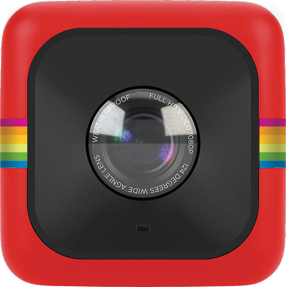 Βιντεοκάμερα action cam Polaroid POLC3R Cube Red